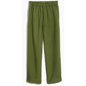 MADEWELL Tapered Huston Pull-On Cropped Pants